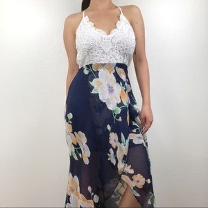 Blooming Jelly | Highlow Dress | Floral
